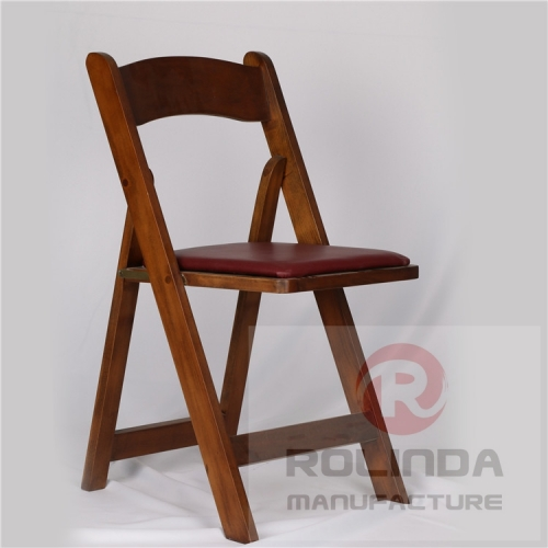 wholesale fruit wood color  folding wedding chair