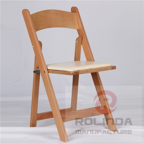wholesale natural color Wimbledon Chair/wood folding wedding