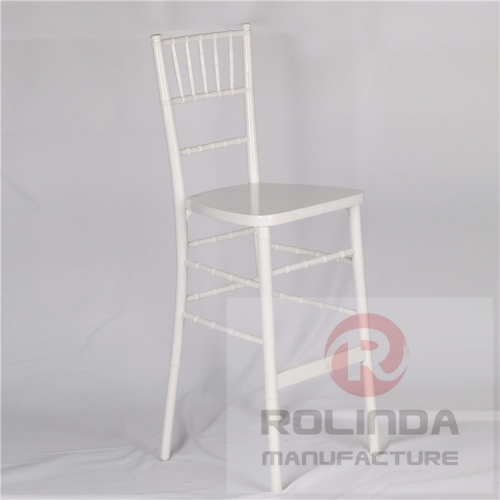 wholesale Chiavari chair bar stool white color