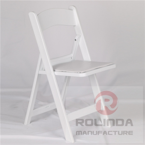 Hot Sale White Resin Folding Chair for Wedding Wholesale Price