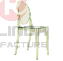 wholesale Acrylic resin Ghost Chair without armrest
